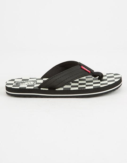 Vans T-STREET Checkerboard Men's Flip Flops 7