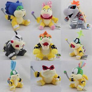 Super Mario Bros. Dry Bowser Bones Morton Wendy Roy Larry Iggy Lemmy etc. Koopa