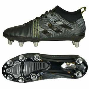 7612003c2ac Details about Adidas All Blacks Kakari X Kevlar Rugby Boots - Black