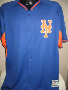 MLB New York Mets Baseball Rivalry Jersey Shirt Majestic Exclusive ... a6d4af54acb