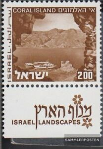 Stamps Israel 536y I With Tab Unmounted Mint Never Hinged 1971 Landscapes To Ensure A Like-New Appearance Indefinably
