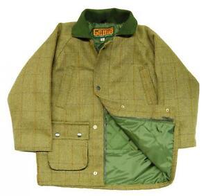 B43-New-Kids-Derby-Tweed-Hunting-Shooting-Jacket-Coat-2-14-Years