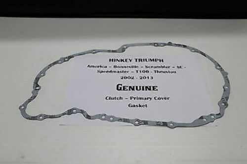 TRIUMPH THRUXTON ** PRIMARY CLUTCH COVER GASKET Carbs /& EFI **
