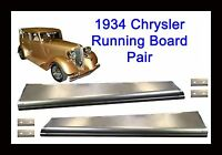 1934 Chrysler Steel Running Board Set 34 - Made In Usa 16 Gauge