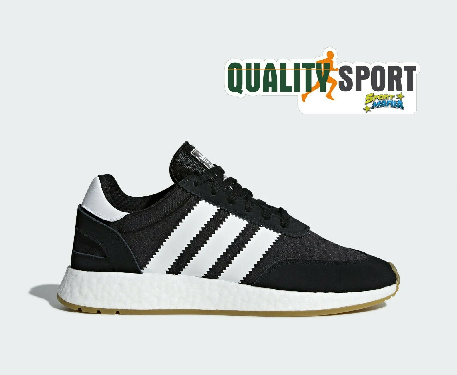 Adidas I-5923 Boost black Bianco shoes shoes men Sportive Sneakers D97344 2019