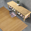 1-52m-x-2-29m-Large-Bamboo-Carpet-Rug-Floor-Mat-Home-Office-Indoor-Outdoor thumbnail 8
