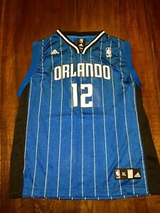 buy online cba3c 0a1e7 Details about Adidas Orlando Magic Jersey Dwight Howard #12 - Youth /Boys  XL (18-20)