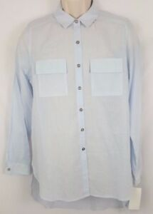 31d757bc3d2 NWT Gibson Latimer Long Sleeve Blue Button Front Shirt SZ M MSRP  69 ...