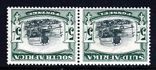 SOUTH AFRICA KG V 1933 5/- Bilingual Pair INVERTED WATERMARK SG 64aw MINT