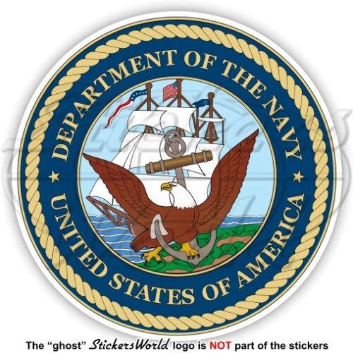 US DEPARTMENT of the NAVY Seal USA United States America DoN American Sticker