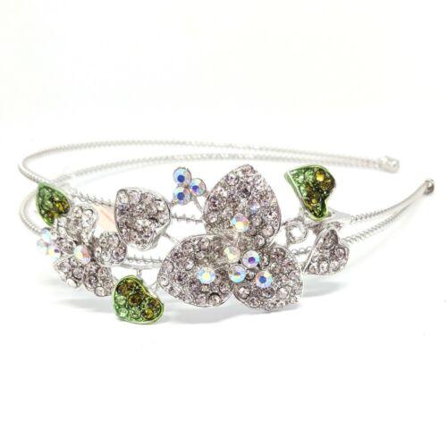 Fashion Crystal Rhinestones metal Flowers Headband head-wear Accessories NEW
