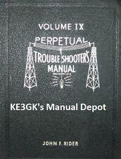 John F Riders Vintage Radio Servicing Schematics on 4 DVD's * 600dpi * KE3GK