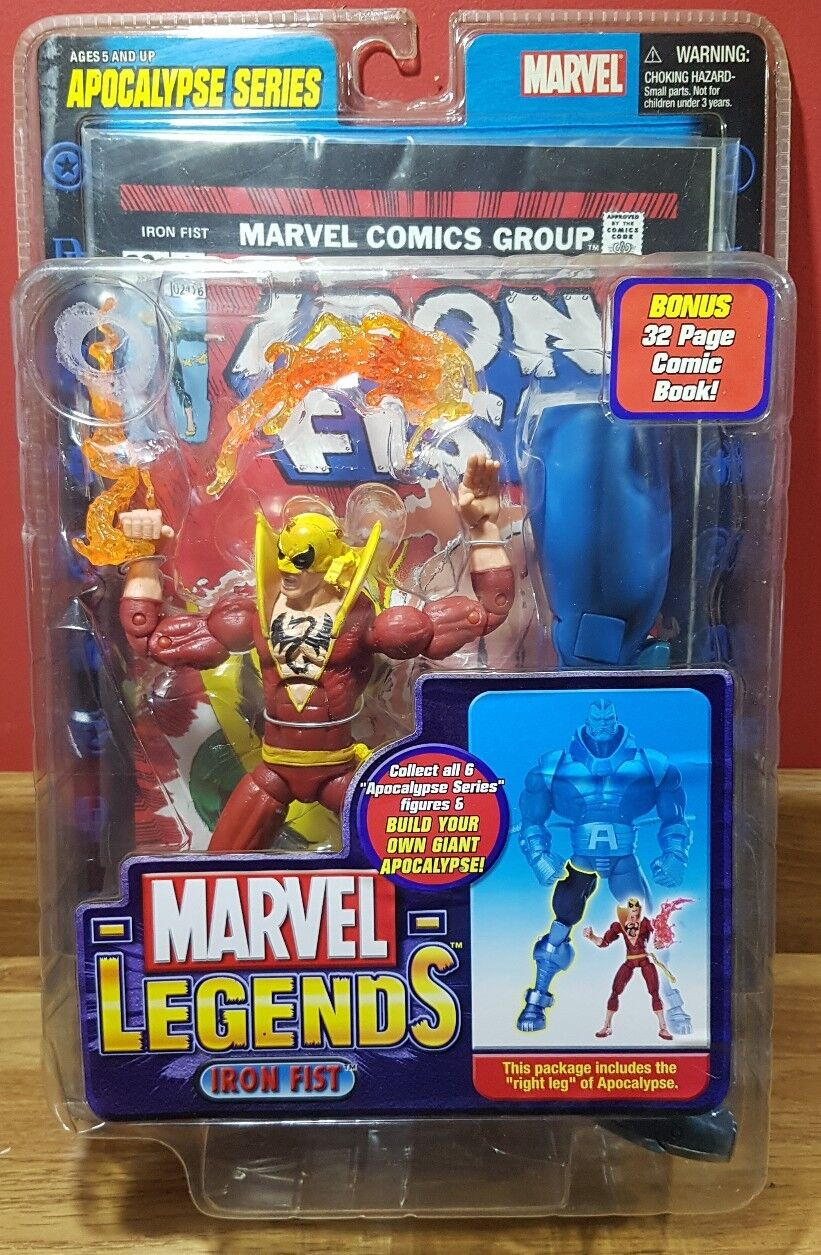 Marvel Legends IRON FIST Red costume variant 6  toy Chase figure VERY RARE