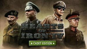 Hearts-of-Iron-IV-4-Cadet-Edition-PC-Steam-GLOBAL-KEY-ONLY-FAST-DELIVERY