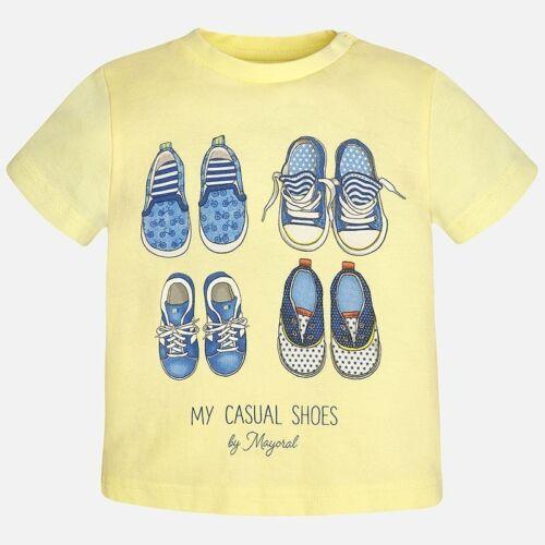 Designer MAYORAL bébé garçon 2 Pièce Summer Set Citron//bleu a été £ 36 Maintenant £ 15 vente