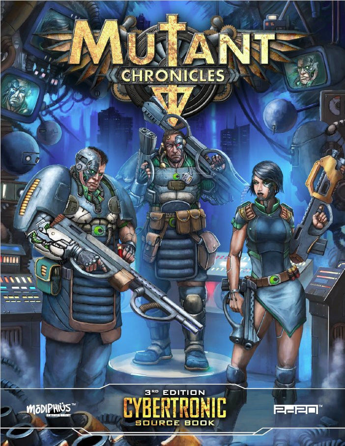Mutant Chronicles RPG  3rd edition edition edition CYBERTRONIC SOURCE BOOK c4344c