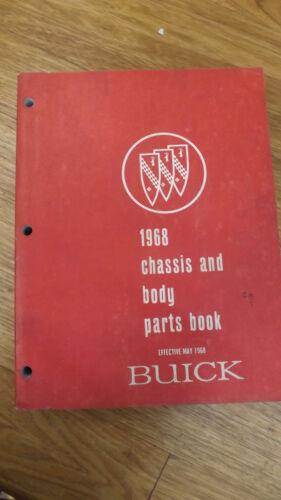 1968Buick Chassis /& Body Parts Catalog Riviera Skylark Wildcat,Electra,LeSabre