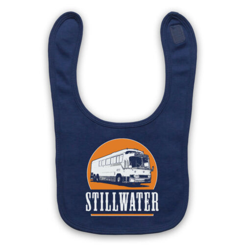 ALMOST FAMOUS UNOFFICIAL STILLWATER 73 TOUR ROCK BAND BABY BIB CUTE BABY GIFT