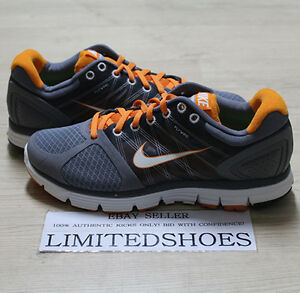the best attitude f6095 5c519 Details about WMNS NIKE LUNARGLIDE+2 COOL GREY WHITE ORANGE 407647-005  WOMENS US 9 red volt 8