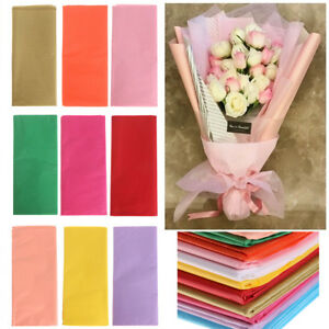 Details About 10x Origami Tissue Paper Flower Wrapping Paper Gift Packaging Craft Paper Rolls