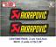 Sticker-Vinilo-Decal-Vinyl-Aufkleber-Adesivi-Autocollant-Akrapovic-SA-Exhaust miniatura 3