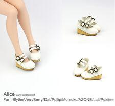 Alice shoes_White for Blythe / DAL / Pullip / Momoko/ Lati_y/Pukifee