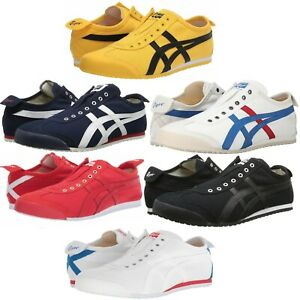 ASICS-ONITSUKA-TIGER-MEXICO-66-SLIP-ON-MEN-039-S-SHOES-LIFESTYLE-COMFY-SNEAKERS