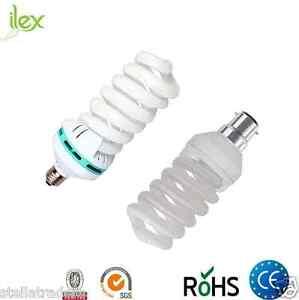 5-Pack-Energy-Saver-Light-Bulb-18W-B22-E27-CFL-Warm-White-Full-Spiral-Light