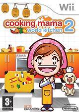 Wii Spiel Cooking Mama 2: World Kitchen Weltküche