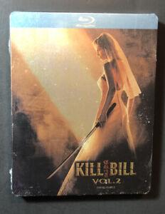Kill-Bill-Vol-2-Limited-Edition-STEELBOOK-Blu-ray-Disc-NEW
