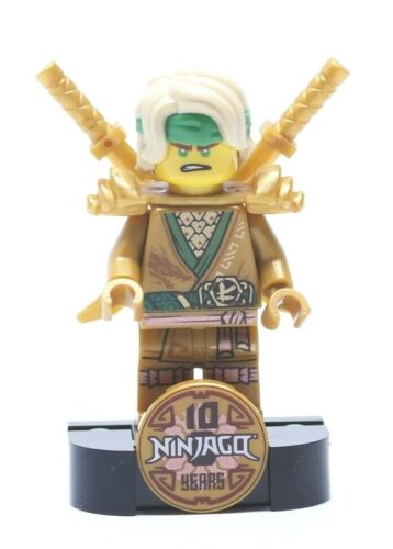 LEGO® Ninjago Lloyd Legacy Minifigur aus SET 71735 NEU komplett Golden