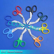 "100 EMT Shears Scissors Bandage Paramedic EMS Supl 7.25"""