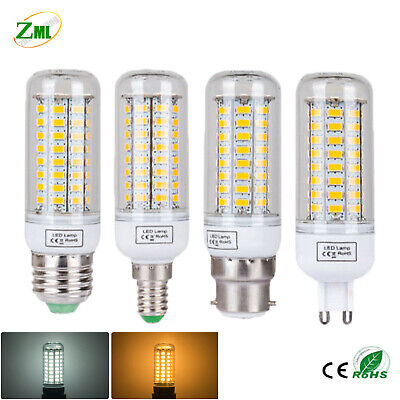 4x Gu9 220V 7W LED Corn Bulbs High Bright Heat Resistant Lights Cool White Lamps