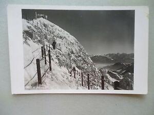 Ansichtskarte-Aufstieg-zum-Wendelsteingipfel-1936