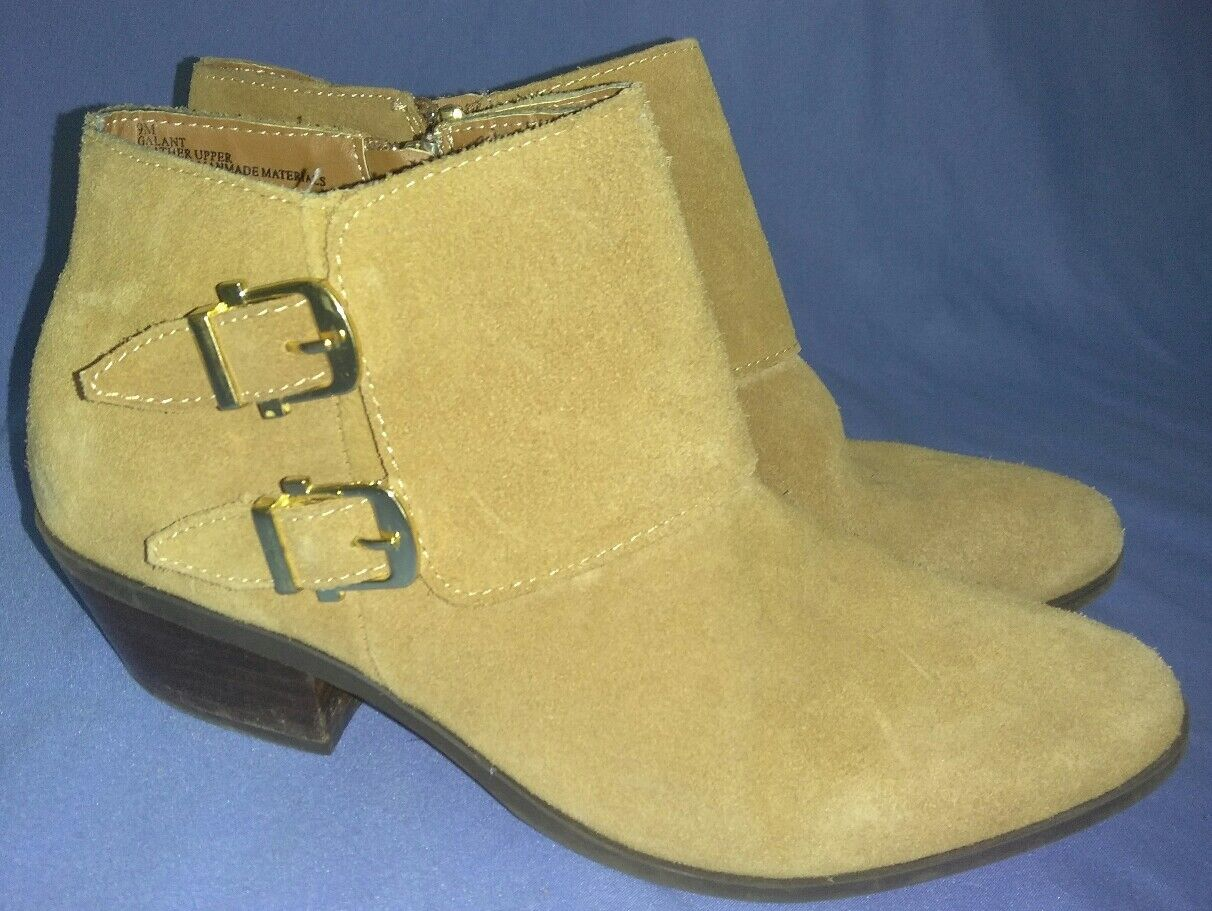"""Apri Italian Shoemaker's """"Galant"""" Brown Leather Ankle Boots Size 9 9.5"""