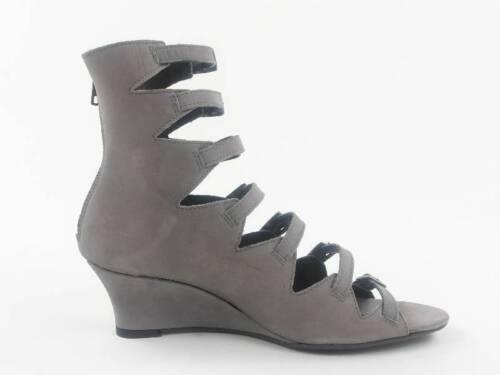 Allerord cuir compensᄄᆭ gris Bizini Biz Talon en Sandales Chaussures oeWxCBrd