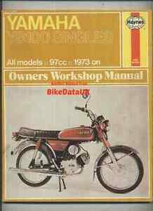 yamaha yb100 1973 1979 haynes service repair shop manual book yb rh ebay com YB100 Tail Light YB100 Tail Light