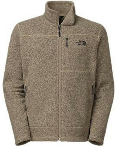 d25d077f502a The North Face Men s Gordon Lyons Full Zip Fleece Dune Beige Heather XXL  for sale online