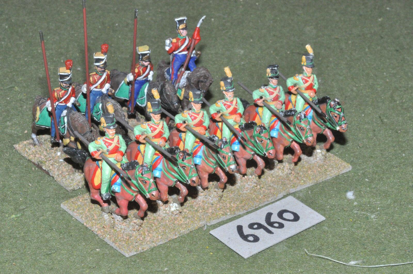 Acw mexikanisch - amerikanischen krieg 25 mm   10 kavallerie metall gemalt - cav (6960)