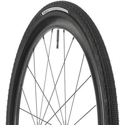700c x 43mm New Panaracer GravelKing SK Bicycle Tire Tubeless Black