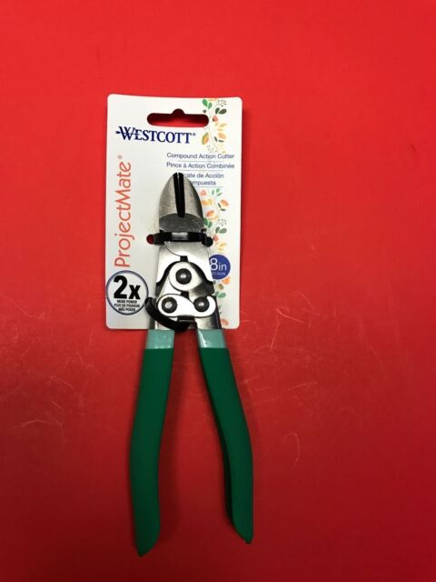 "WESTCOTT ProjectMate 8"" Compound Action Cutter 2X More Power 483275"