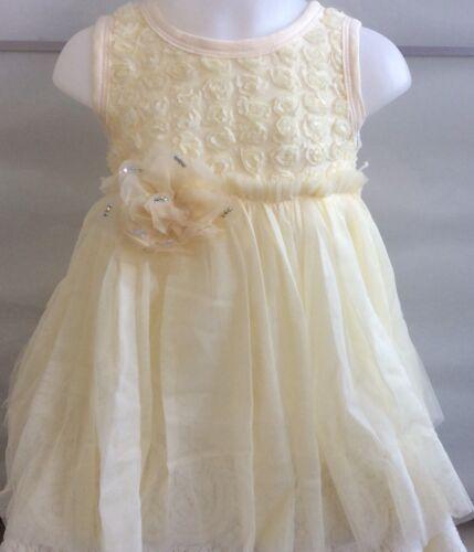 New Girls Pale Yellow Tutu DressAge 4-5years  UK Seller-Girls-Kids Clothing