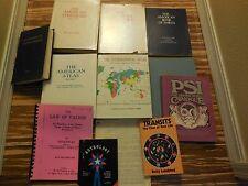 Lot of Astrology Reference Material 20 books Almanacks Atlas Ephemeris Guides