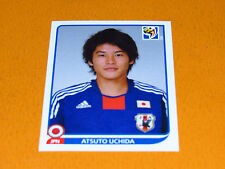378 UCHIDA JAPAN JFA NIPPON PANINI FOOTBALL FIFA WORLD CUP 2010