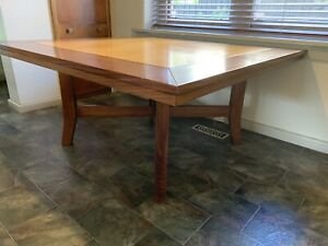Details About Solid Timber Dining Table