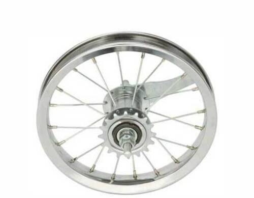"BICYCLE REAR WHEEL for 12/"" BIKES STEEL COASTER BRAKE BEACH CRUISER LOWRIDER BMX"