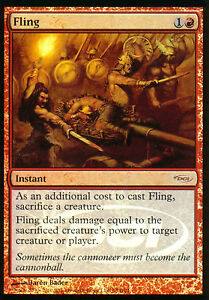 MTG-MAGIC-1x-ARROJAR-FLING-PROMO-FOIL-ESPANOL