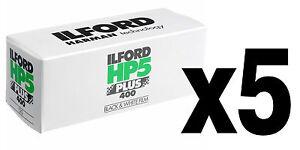Bande-moyen-format-Pellicule-BN-noir-et-blanc-Ilford-HP5-Plus-400-120-5pz