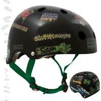 Slamm Pro Stunt Scooter Sticker Helmet Black - Free Stickers & Fast Shipping