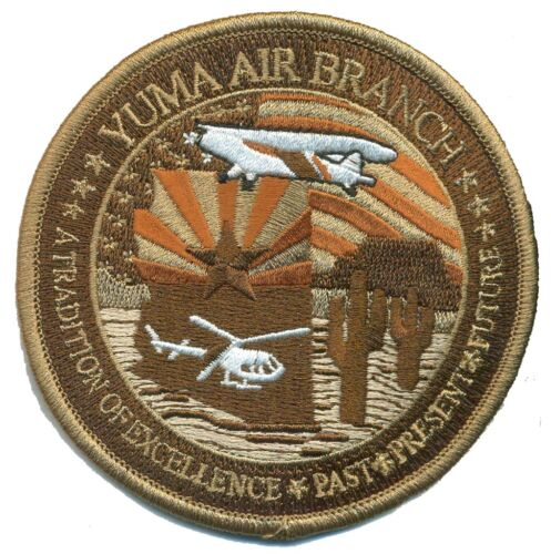 USC /& BP YUMA AIR BRANCH SUBDUED BROWN PATCH